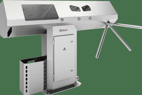 Автоматическая станция (санпропускник) для бесконтактной гигиены рук от Feleti Wash