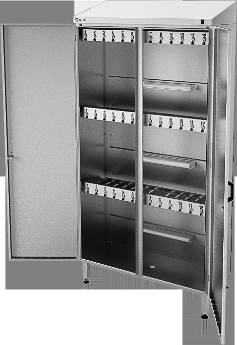 Шкаф инструментальный для хранения и стерилизации