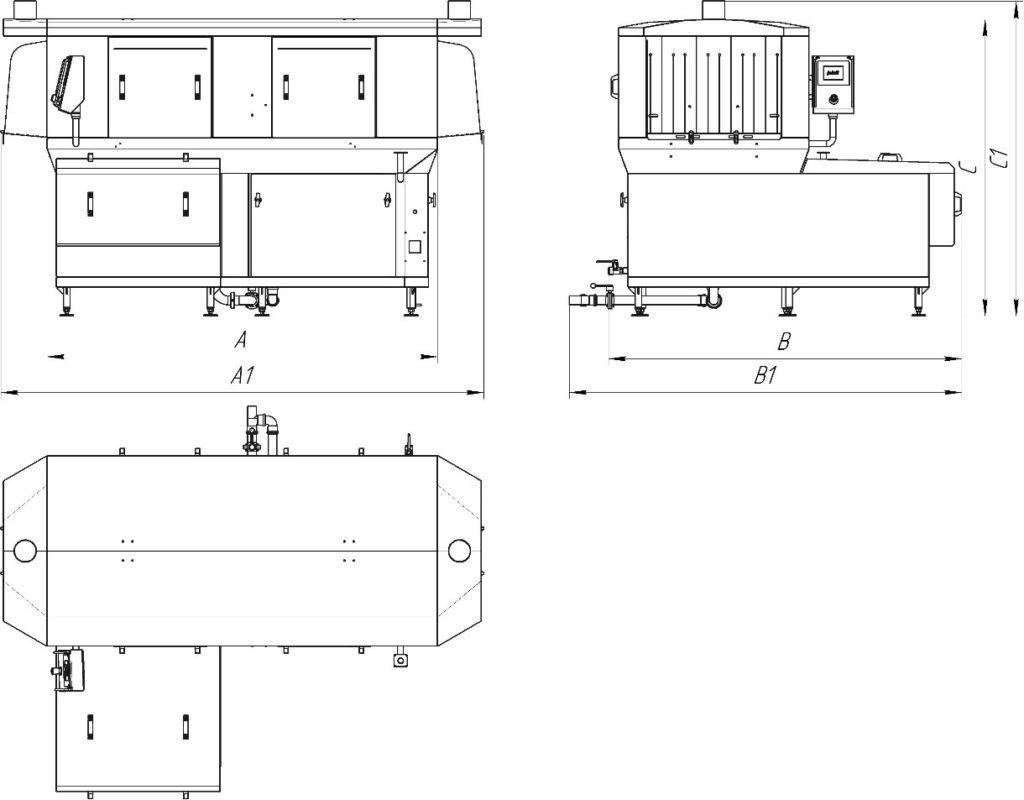 Машины ТЕС/ТSC с ротационным фильтром